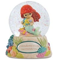 A Wonderful World Surrounds You Ariel Musical Water Globe | Disney Store