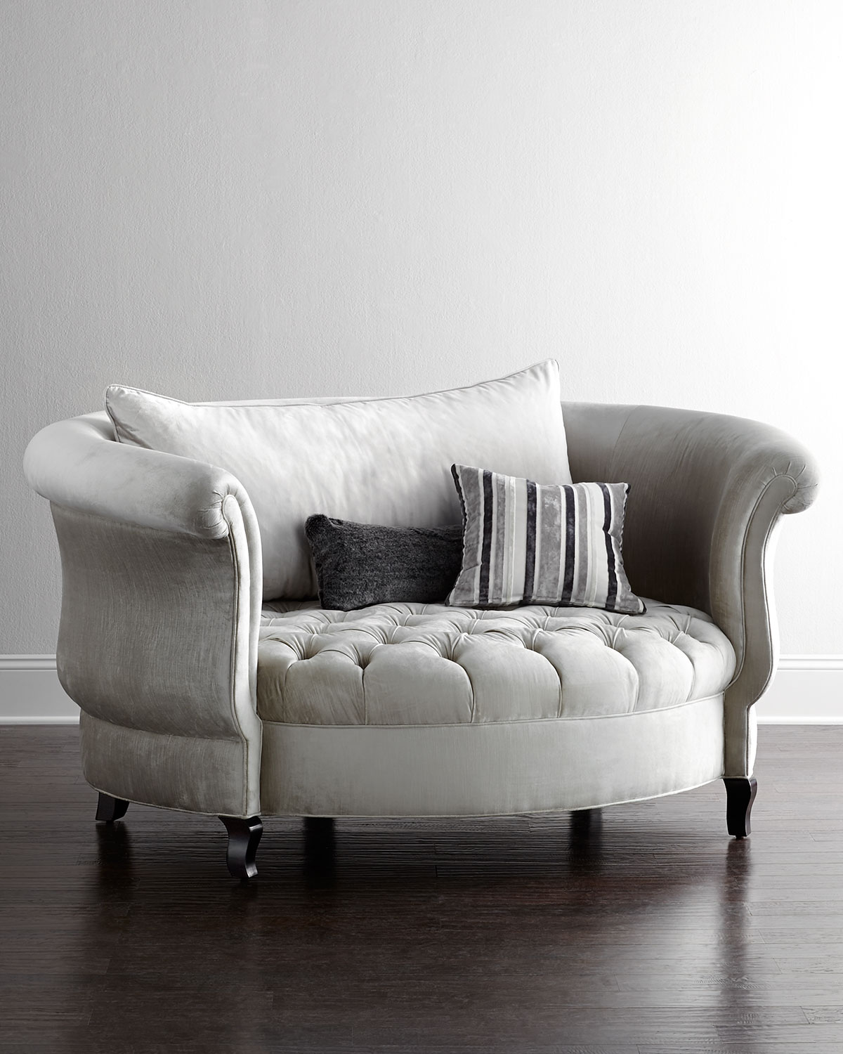 Haute House Harlow Cuddle Chair from Horchow : b a c h l e o r e