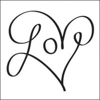 Love Heart Temporary Tattoo:Amazon:Beauty