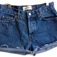 Radiate Sunshine High Waisted Denim Shorts