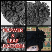 Ravelry: Petal Flower and Leaf Pattern pattern by Lenore Berry-Zaragosa