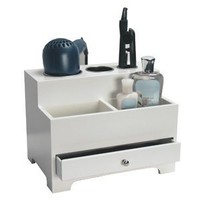 Personal White Hair Styling Organizer
