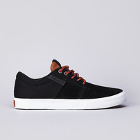 Flatspot - Supra Stacks Vulc Low Black / Brown Deluxe Coalition