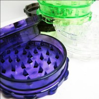 Large Acrylic Grinder ~ Assorted Colors ~ Approx 3.25 x 1 Inches
