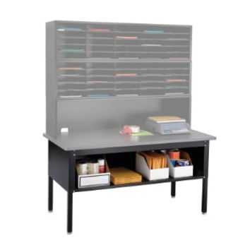 Sorting Table Base/Shelf, Black-BL by Safco Products