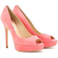 mytheresa.com - Jimmy Choo - CROWN PLATFORM PEEP-TOE PUMPS - Luxury Fashion for Women / Designer clothing, shoes, bags