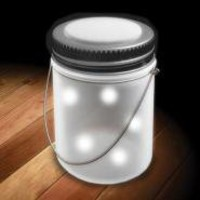 Fairy Jar | Solar Powered Fairy Lights!