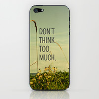 Travel Like A Bird Without a Care iPhone & iPod Skin by Olivia Joy StClaire