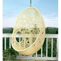 Amazon.com: Flower Pod Chair: Patio, Lawn & Garden