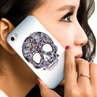 Garceful Skull Hard Cover Case for Iphone 4/4s