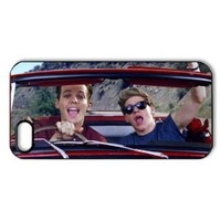 CTSLR Music & Singer Series Protective Hard Case Cover for iPhone 5 - 1 Pack - One Direction - Louis Tomlinson & Niall Horan