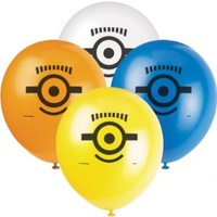 Unique Party Supplies - Despicable ME2 -8 Heliium Quality Balloons:Amazon:Toys & Games