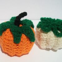 Pumpkin cat toy. organic five blend cat nip plush toy