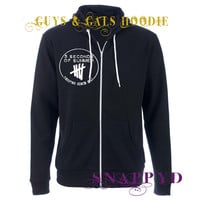 5 Seconds of Summer Cotton Hoodie.  5SOS Zip Sweater for Guys or Girls Unisex t-shirt Ashton Calum Irwin