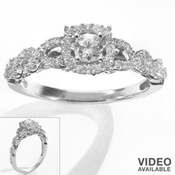 Simply Vera Vera Wang Diamond Twist Halo From Kohl S