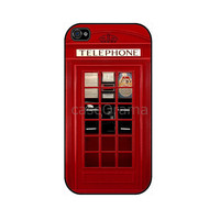 LONDON Telephone British Rubber iPhone Case iPhone 4 by caseOrama