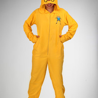 Jake Hooded Footed Adult Pajama