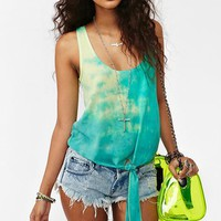 Monterey Tie Dye Tank in Clothes at Nasty Gal