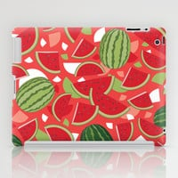 Watermelon iPad Case by Ornaart