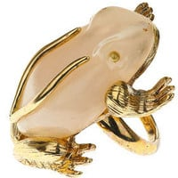Marbled Frog Ring - Jewellery