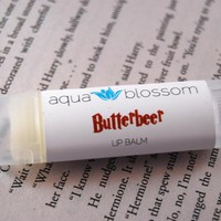 READY TO SHIP, Butterbeer Lip Balm, All Natural 