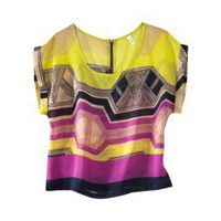 Product: Xhilaration® Juniors Boxy Tee - Assorted Prints