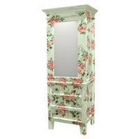 One Kings Lane - Classics with Character - Evangeline Wardrobe, Light Sage