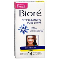 Biore Deep Cleansing Pore Strips Combo Pack, Deep Cleansing Combo