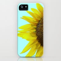 Sunflower Mint iPhone & iPod Case by RichCaspian