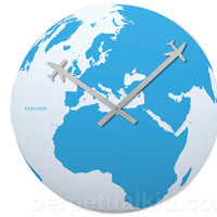 WALL CLOCK  AROUND THE WORLD