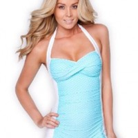 Sheridyn Swim - Monroe boyleg one piece swimsuit:Amazon:Clothing