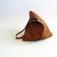 13in Wedge - Toffee leather