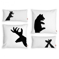 Shadow Puppet Pillows & Gus Design Group Shadow Puppet Pillows | YLiving