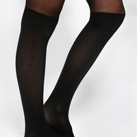 Gipsy Ribbed Mock Over-The-Knee Tight