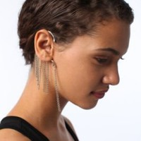 Hanging Chain Ear Cuff!