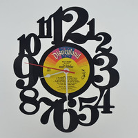 Vinyl Record Clock (artist is Disneyland Mary Poppins)