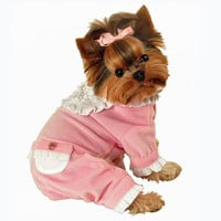 Sweety Dog Jumper Pajamas by Hip Doggie at BaxterBoo