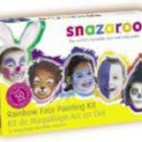 Face Painting Rainbow Colors Kit Is Easy, Safe And Loads Of Fun For Kids Or Grownups