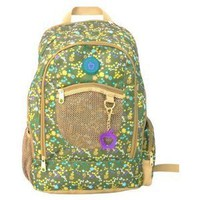 Double Dutch Ditzy Floral Green Backpack