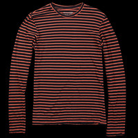 UNIONMADE - Save Khaki - Long Sleeve Tee in Navy and Red