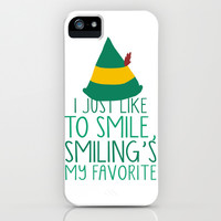 Smiling's My Favorite iPhone & iPod Case by LookHUMAN