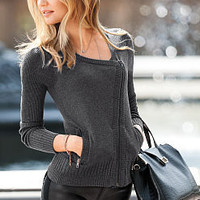 Moto Jacket - A Kiss of Cashmere - Victoria's Secret