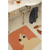 Twinkle Living Glamour Girl Mat Dusty Rose Rugs