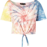Petite Tie Dye Tee - New In This Week  - New In  - Topshop USA