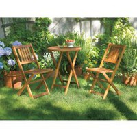 Living Accents 3-Piece Wood Bistro Set - Bistro, Bar &amp; Balcony Sets - Ace Hardware