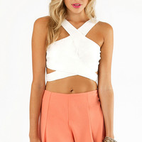 Britt Cross Top $26