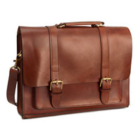 Leather Briefcase - from H&M