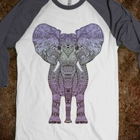 Cute  *** PURPLE AZTEC ELEPHANT *** Shirt designed by Monika Strigel for skreened.com !!! You must have this!