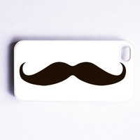 iPhone 4 Case  Handlebar Mustache by onyourcasestore on Etsy