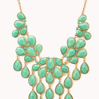 Teardrop Bib Necklace